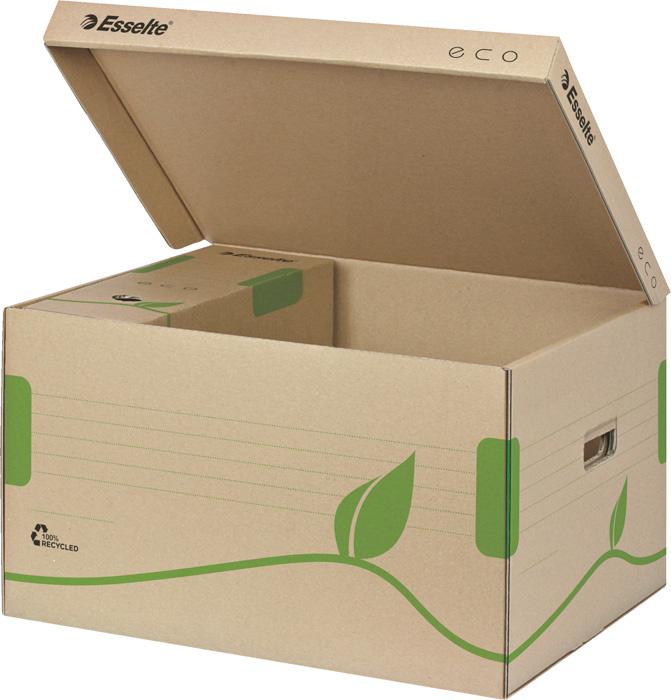 Archivní kontejnery Esselte ECO - na pořadače / s víkem