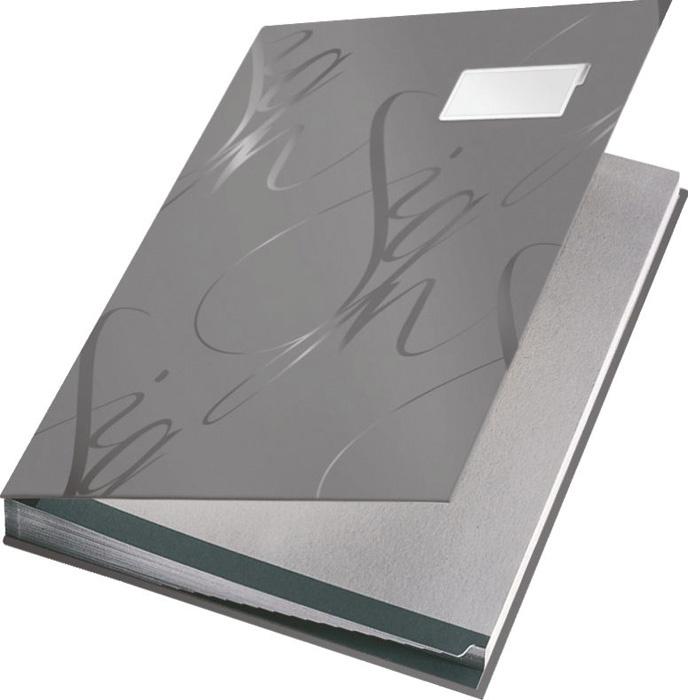 Designová podpisová kniha - šedá