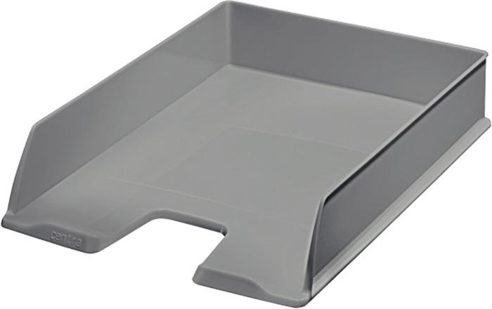 Kancelářský box na spisy Centra - šedá