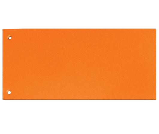 Rozdružovací kartonové jazyky  - oranžová / 100 ks