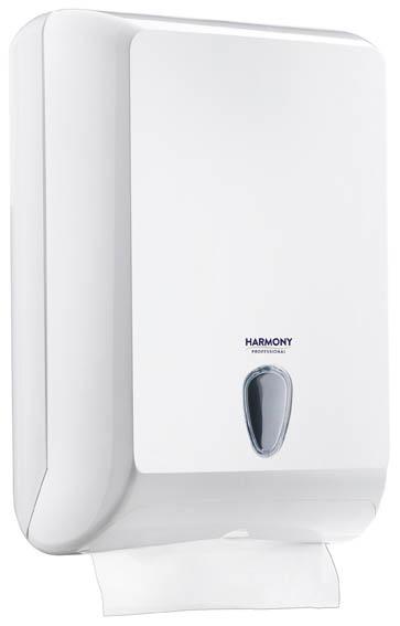 Zásobník na skládané ručníky Harmony Professional - Maxi / 400 x 130 x 290 mm