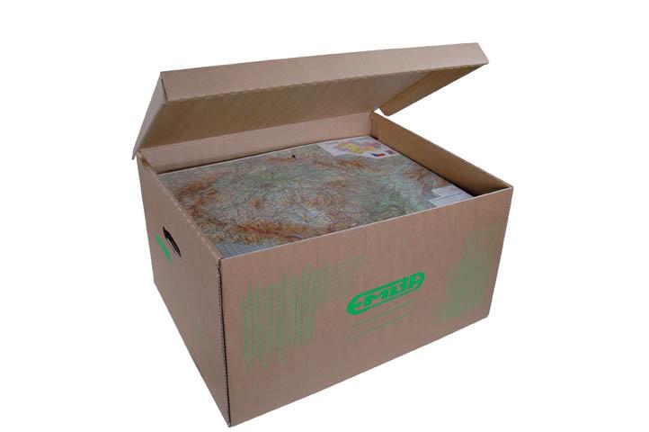 Kontejner stěhovací STRONG Emba - přírodní hnědá