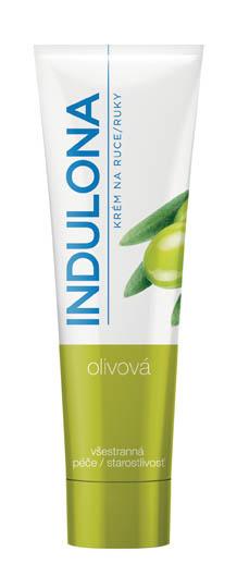 Krém na ruce Indulona - zelená / olivová / 85 ml