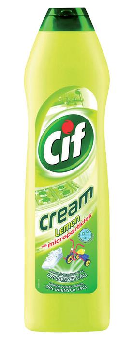 Cif - tekutý krém / 250 ml / citrus