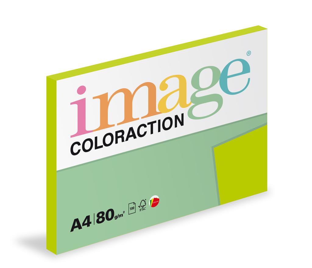 Xerografický papír BAREVNÝ - Java / středně zelená / 100 listů / MA42