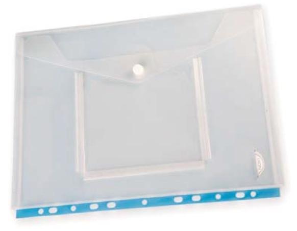 Spisové desky s drukem Noki - A4 / čirá + kapsa na CD