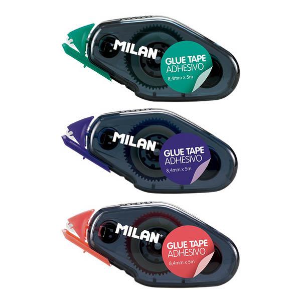 Lepicí roller Milan permanentní - roller 8,4 mm x 5 m