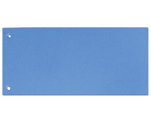 Rozdružovací kartonové jazyky - modrá / 100 ks