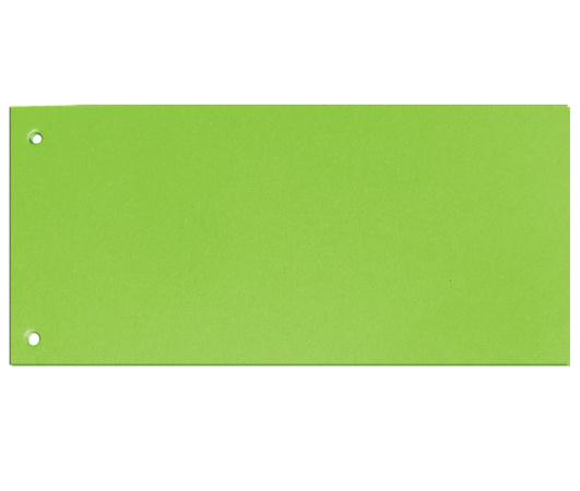 Rozdružovací kartonové jazyky  - zelená / 100 ks