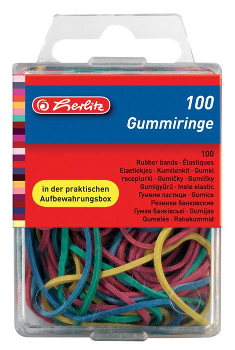 Gumičky Herlitz - 100 ks