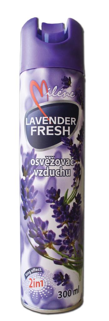 Osvěžovače spray Miléne - levandule