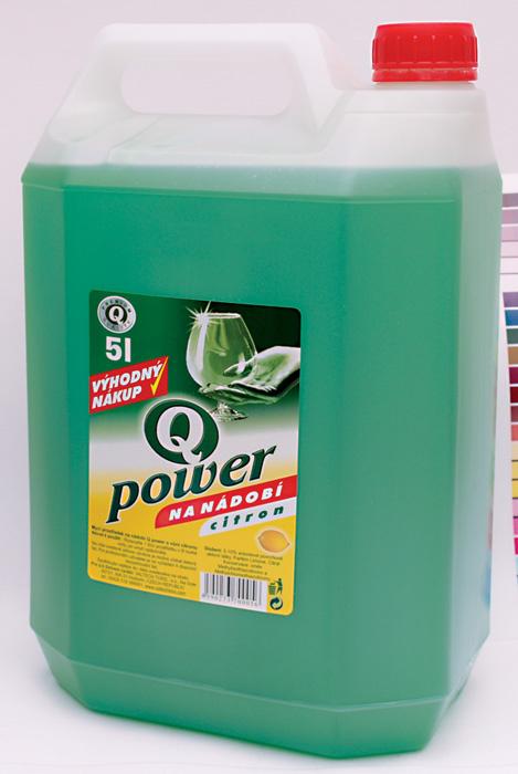 Q-Power na nádobí - citron / 5 l