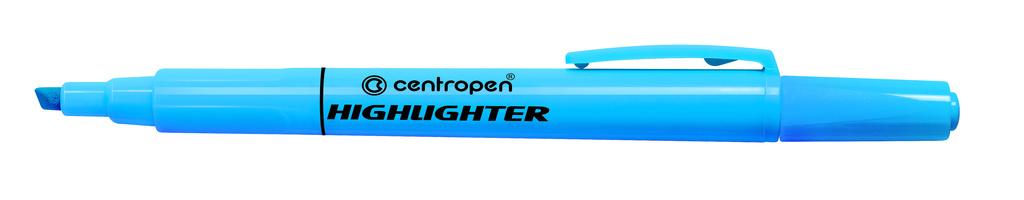 Zvýrazňovač Centropen HIGHLIGHTER 8722 - modrá
