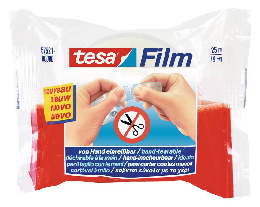 Lepicí páska Tesa rukou trhatelná - 19 mm x 25 m