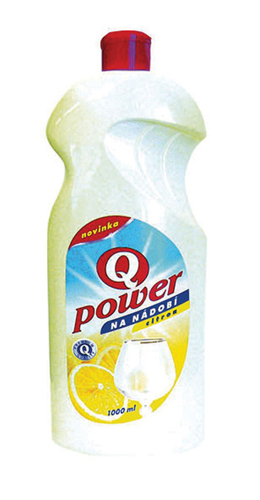 Q-Power na nádobí - citron / 1 l