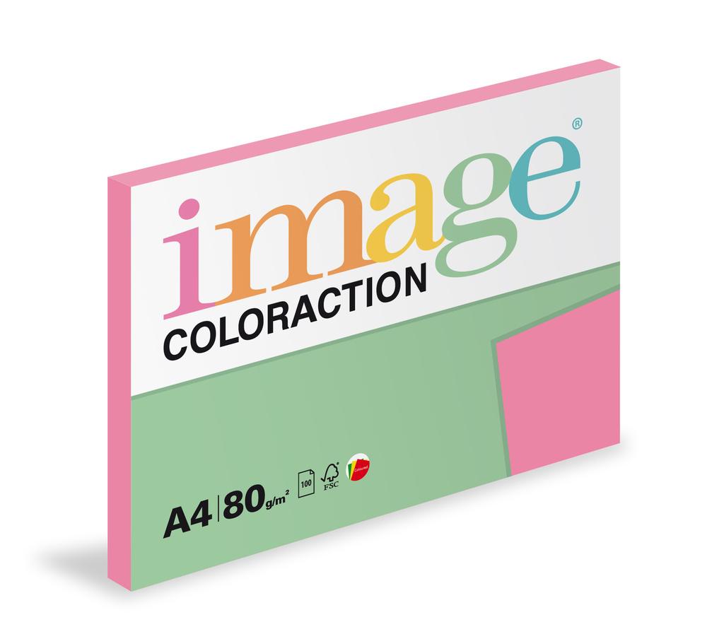 Xerografický papír BAREVNÝ - Malibu / reflexní růžová / 100 listů / NeoPi