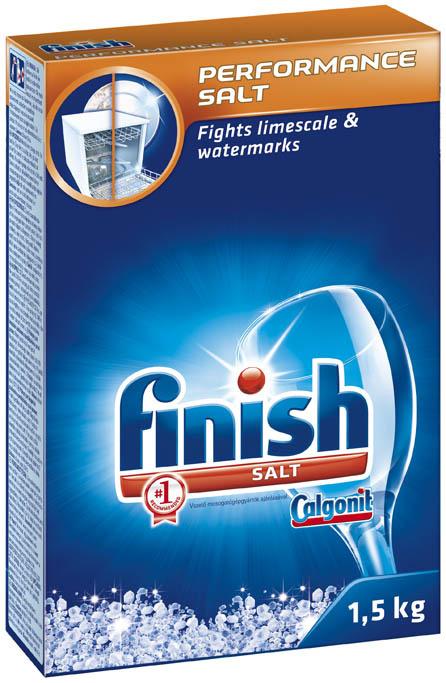 Finish – prostředky do myčky - sůl / 1,5 kg