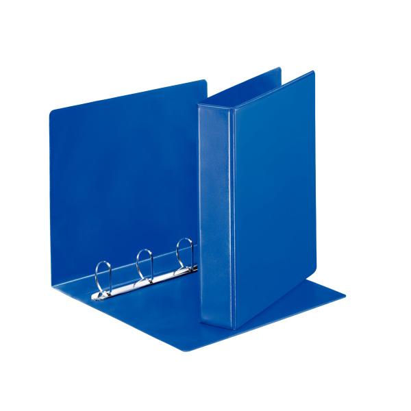 Esselte pořadač A4 kroužkový prezentační 6,2 cm 4-kroužek modrá