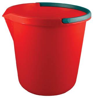 Kbelík plastový s výlevkou 10 l
