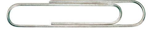 Dopisní spony CONCORDE - 25 mm / 100 ks