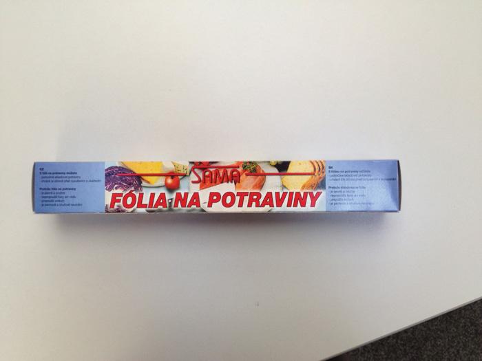 Potravinová fólie - šíře 30 cm / návin 30 m