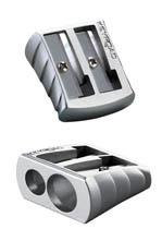 KeyRoad Ořezávátko kovové Metal dvojité A510