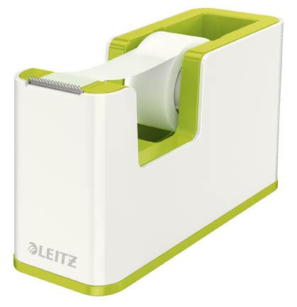 Stolní odvíječ lepicí pásky Leitz WOW - zelená