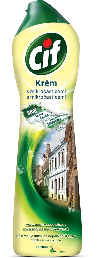 Cif - tekutý krém / 500 ml / citrus