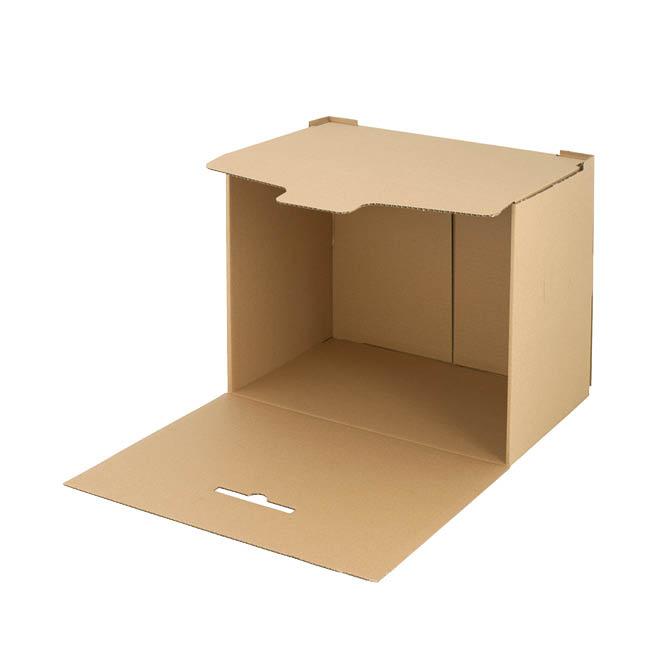 Kontejner archivační Emba - přírodní hnědá