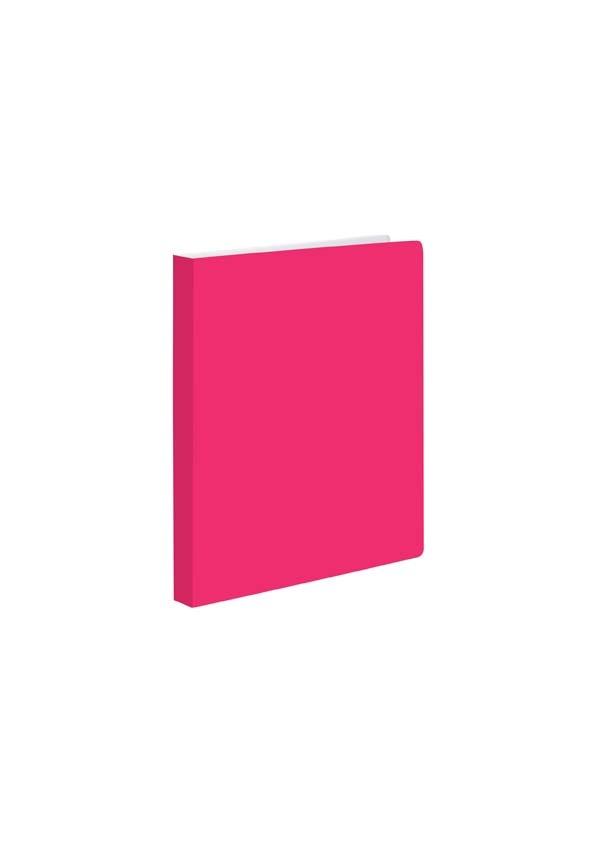 Kroužkové záznamníky Karis PVC Office - A5 / pastelová růžová