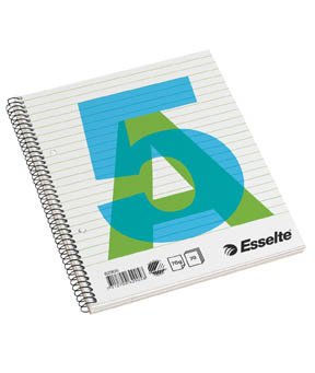 Blok Esselte  -  A5 / linka / 70 listů