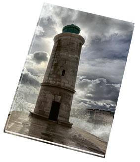 Kniha záznamní šitá Papírny Brno - A5 / linka / 192 listů