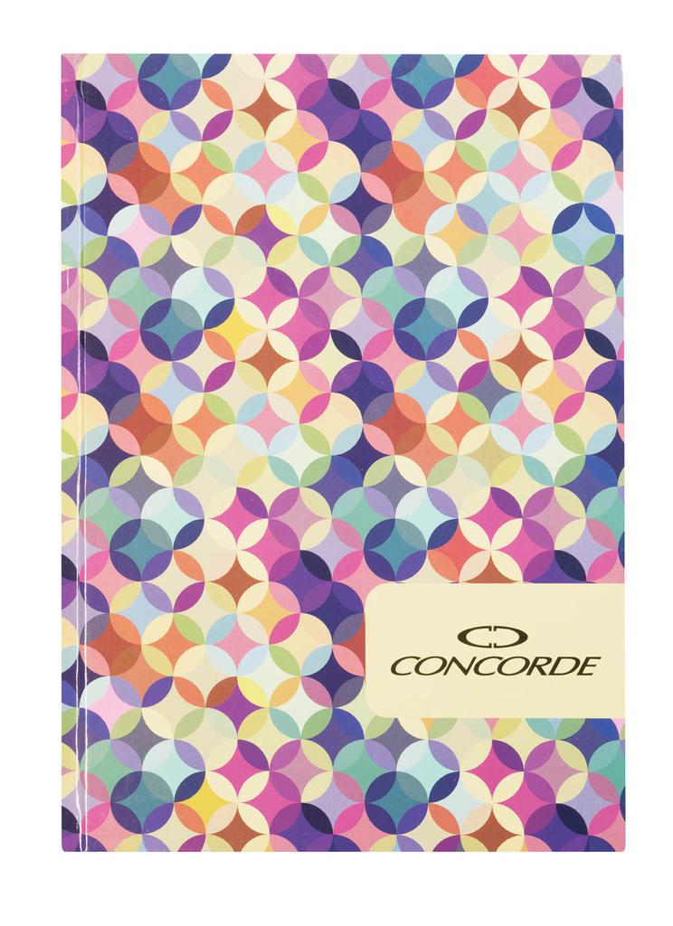 Kniha záznamní lepená Concorde - A6 / linka / 100 listů