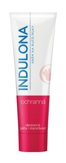 Krém na ruce Indulona - červená / dezinfekční / 85 ml