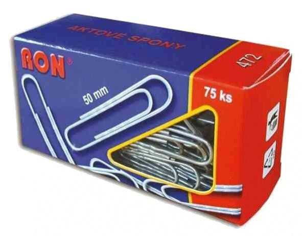 Aktové spony RON - 50 mm / 75 ks