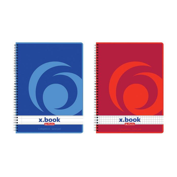 Blok College Herlitz - A5 / čtvereček
