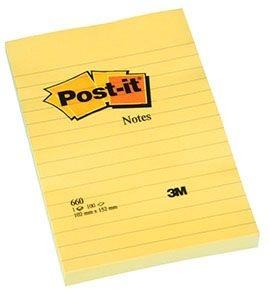 Samolepicí bločky Post-it - 102 mm x 152 mm