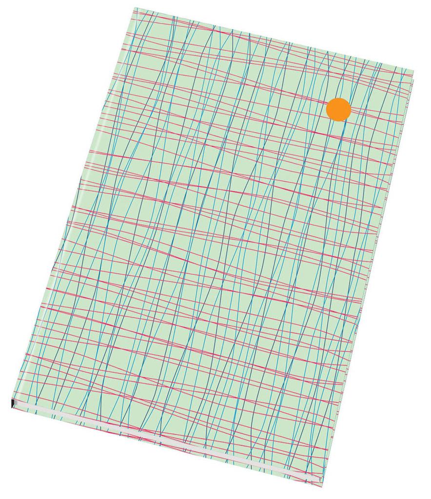 Kniha záznamní šitá Papírny Brno - A5 / linka / 96 listů