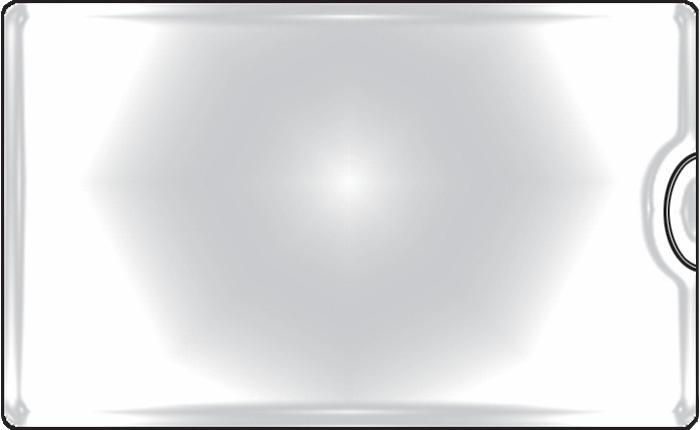 Samolepicí kapsy na vizitky - boční vkládání / 10 ks
