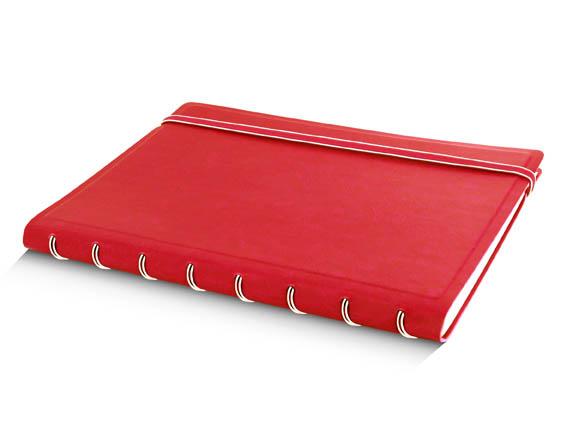 Poznámkový blok Filofax Notebook - A5 / červená