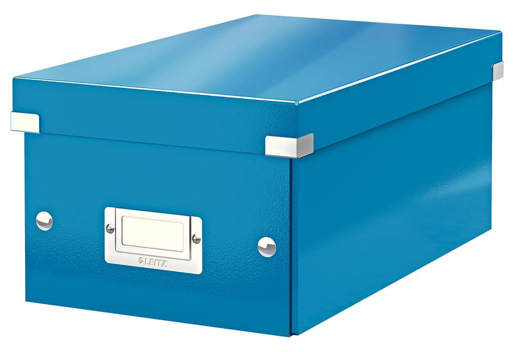 Krabice Leitz Click & Store - na DVD / modrá
