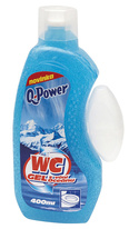Q-Power WC gel - oceán / 400 ml