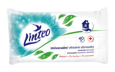 Vlhčené ubrousky Linteo Satin - použití pro domácnost / 40 ks