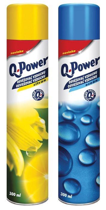 Osvěžovače spray Q-Power - oceán