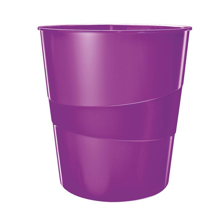 Koš odpadkový WOW - fialová