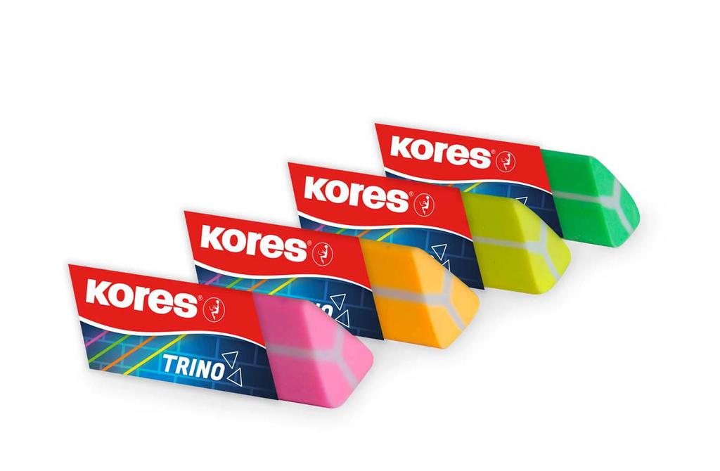 Pryž Kores TRINO - barevný mix