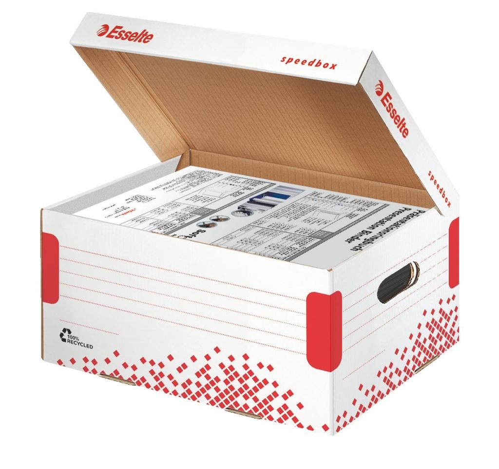 Archivní boxy a kontejnery Esselte Speedbox -  kontejner archivní
