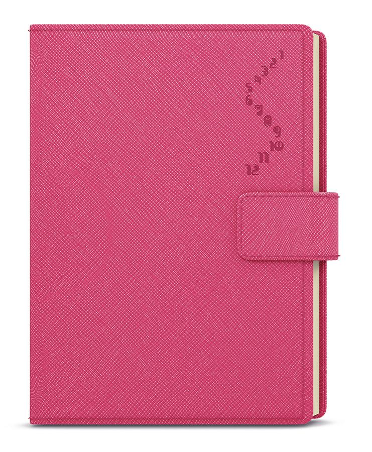 Diáře MANAGER Color A5 - denní / růžová