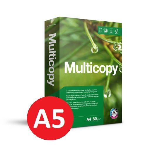 Xerografický papír Multicopy - A5 80 g / 500 listů