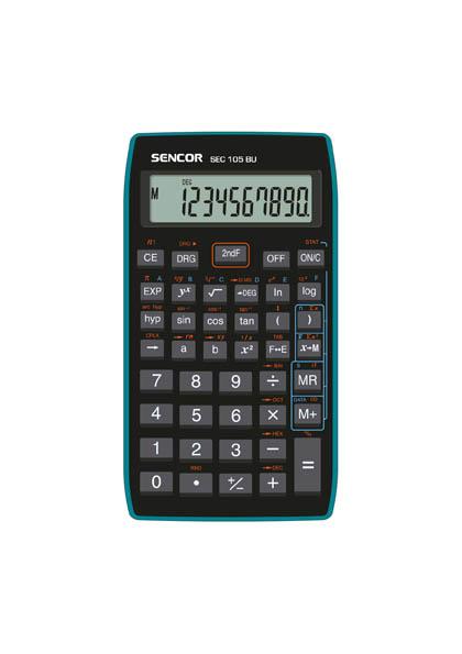 Kalkulačka Sencor SEC 105 BU - displej 10 míst
